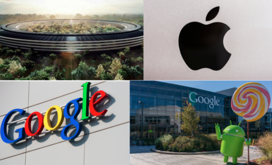 Apple Inc. Google Inc. corporate renewable energy buying solar wind