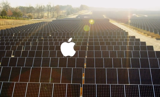 Apple Inc. First Solar renewable energy California
