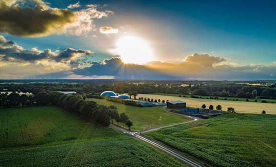 biogas treatment plant