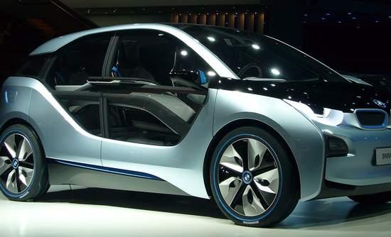 BMW i3 Concept at IAA Frankfurt 2011.