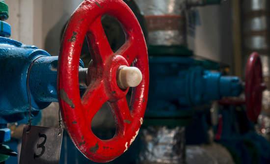 Boiler room pipes