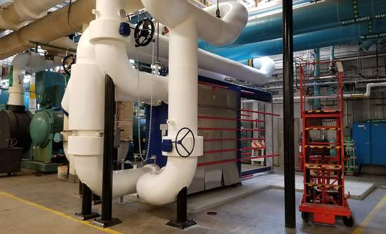 heat exchanger, IBM data center