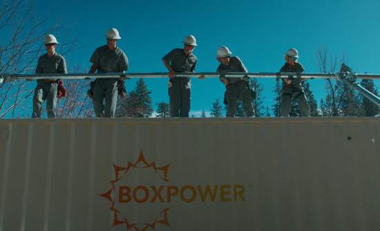 BoxPower, microgrid, container, installers
