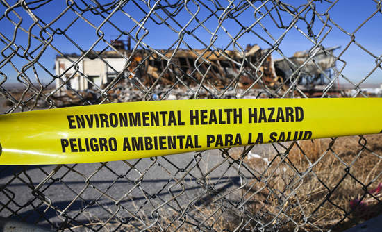 toxic chemicals in building materials environmental health hazard