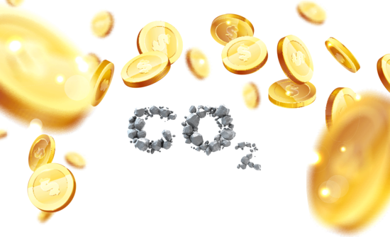 carbon dioxide and money