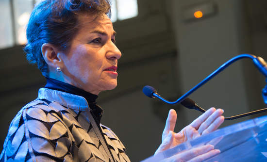 Christiana Figueres in November 2015