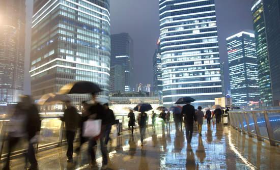 Shanghai rain