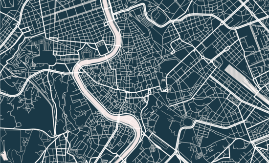 Outline of a city plan