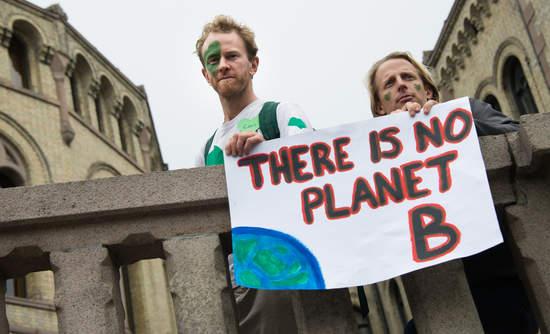 climate protestors language of environmentalism