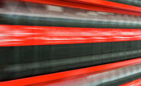blurry Coca-Cola bottles