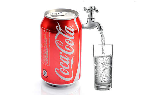 Examine coca cola product or service from