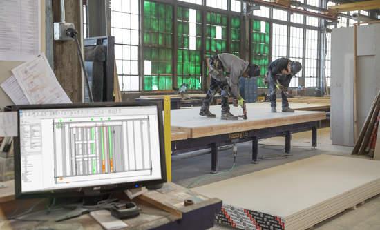 Factory OS, prefab, construction