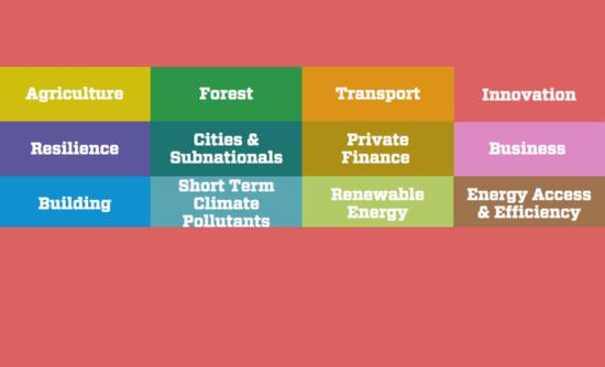Lima-Paris Action Agenda focus areas