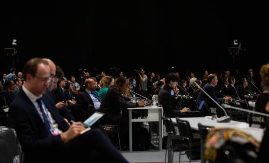 COP25 plenary session