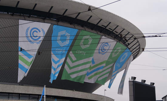 COP24 in Poland stadium