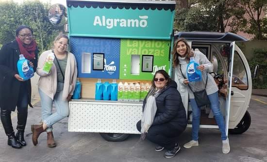 Algramo, reuse, refill