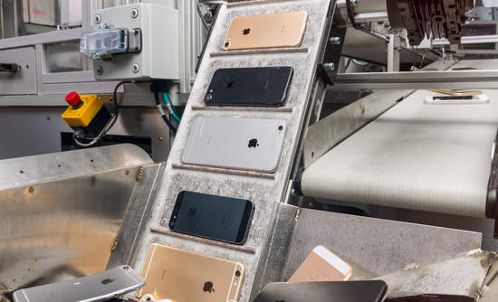 Image result for New report details Apple's iPhone disassembly robot and efforts to stop mining the earth