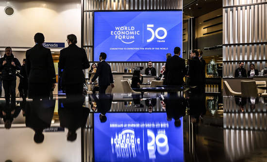 Impressions from the World Economic Forum Annual Meeting 2020 in Davos-Klosters, Switzerland, 20 January