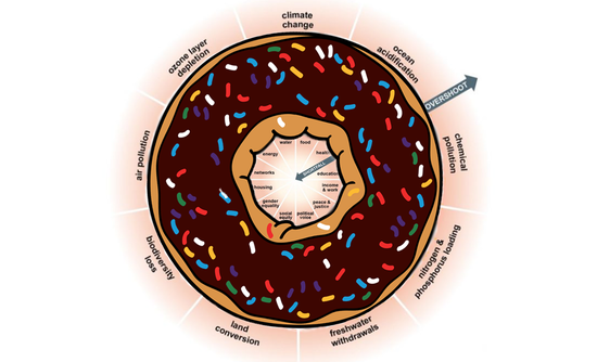 doughnut with economic principles