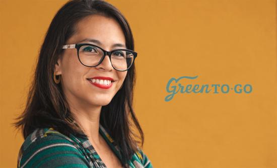 Chrystal Dreisbach and GreentoGo logo