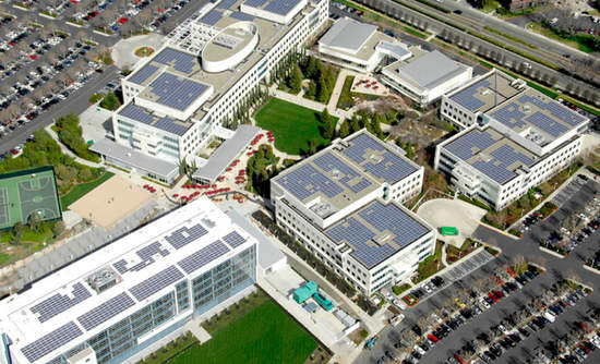 eBay corporate solar SolarCity