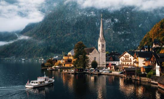 Electric Ferry in Austria
