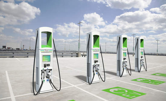 Electrify America Chargers By Btc