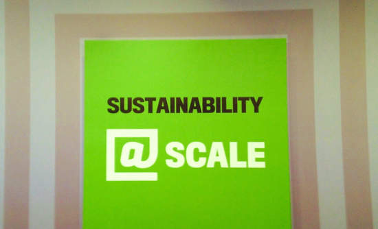 Facebook sustainability scale