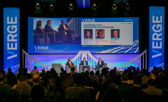 fleet electrification panel at VERGE 18