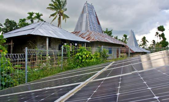 Sumba Indonesia solar