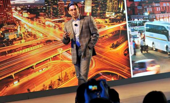 Ford Motor Co. CEO Mark Fields sharing economy