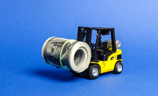 forklift money