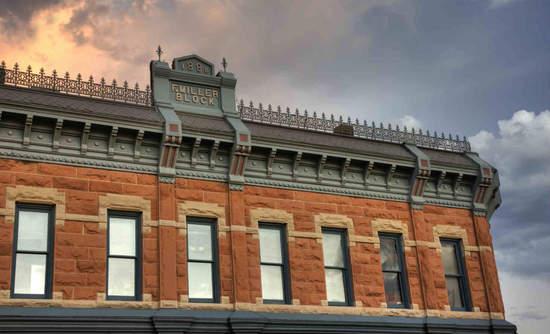 Historic building in Fort Collins, Colorado