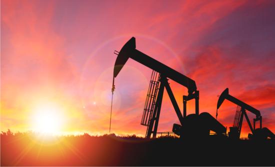 Oil pump on land