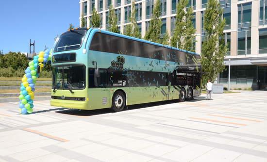 Genentech Electric Bus