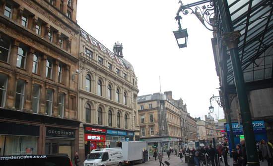 Photo of Glasgow LED installation