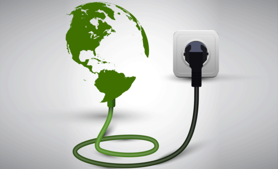 globe plugged into outlet