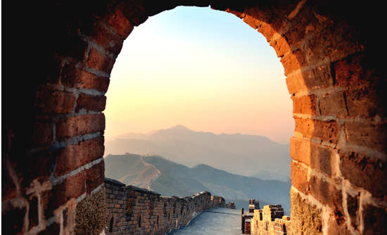Doorway, Great Wall of China, Beijing