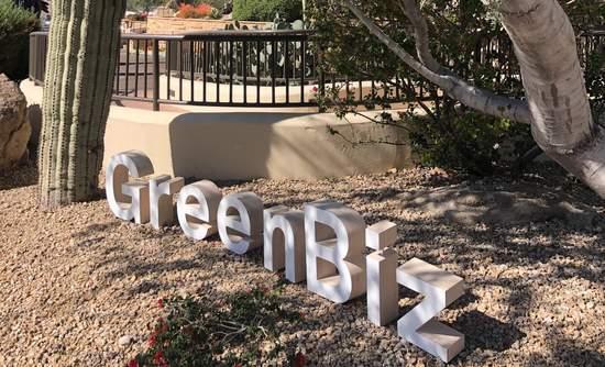 GreenBiz 20 sign