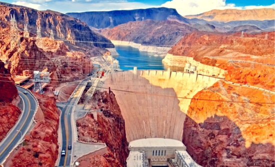 Can Los Angeles use the Hoover Dam as a giant battery