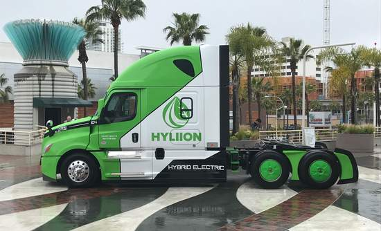 Hyliion's hybrid electric semi-truck