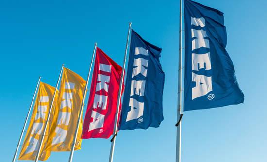 IKEA flags