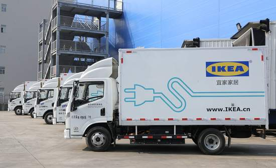 How Ikea Plans To Deliver Its Goods Via Electric Trucks And Vans