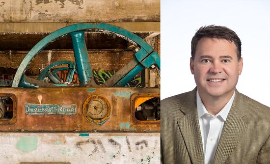 Ingersoll Rand machinery and CSO Scott Tew