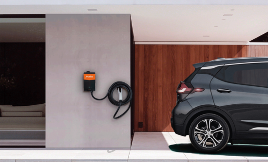 Enel X's JuiceBox Pro 40 residential EV charging station.