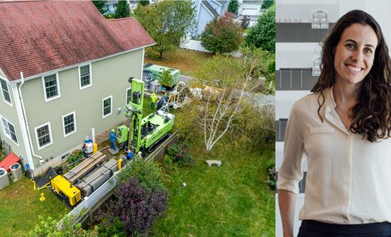 Kathy Hannun and a home with solar