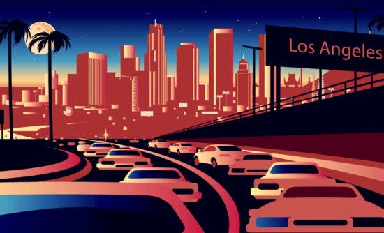 Los Angeles street view