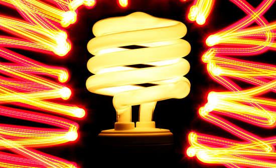 LED lightbulb smart lighting for business