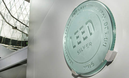 Leed certification on building