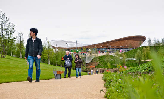 London Olympic Park urbanization and recycling issues